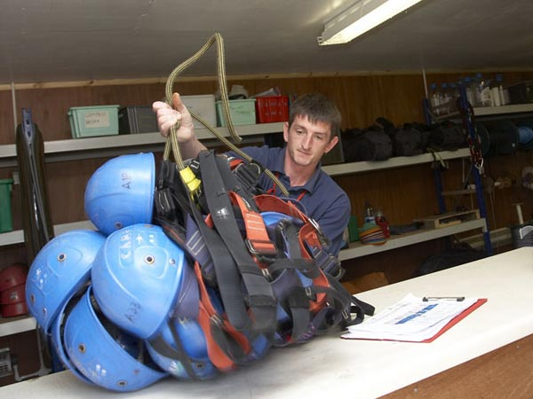 outdoor pursuits equipment